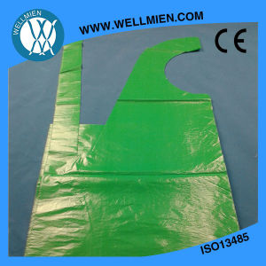 CE ISO Hot Sale Food Grade Plastic PE Apron (WM-PA1209) pictures & photos