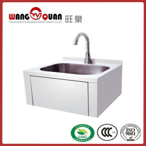 Good Design Knee Push Type Wall Sink pictures & photos