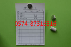 Type G 10.5*15.5cm Magnetic Material Card Storage Card Warehouse Card with Numbers pictures & photos