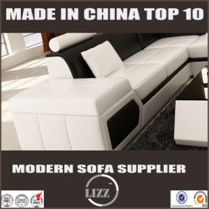 Modern U Shaped Leather Sectional Sofa pictures & photos
