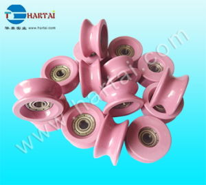 Aluimna Solid Ceramic Wheels Wire Roller Bearing Pulley Guide Roller pictures & photos