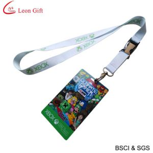 Custom Logo Silk Print Lanyard ID Card Holder (LM1143) pictures & photos