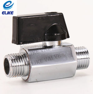 High Quality Fxm Brass Mini Ball Valve with Chrome Coating