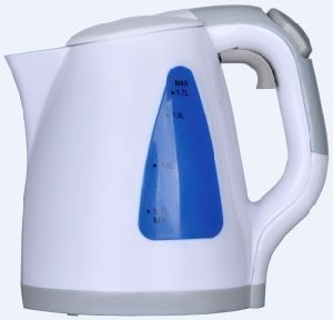 Spring Cover Plastic Electric Kettle