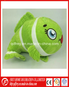 Cartoon Design Plush Stuffed Fish Toy Gift pictures & photos