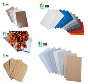 Wall Cladding System Interior Wall Panelling Fashion Curtain Fireproof ACP pictures & photos