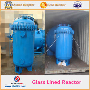 Vertical Type Corrosion Resistance Glass Lined Reactor Vessel pictures & photos