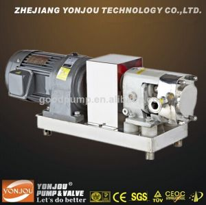 High Viscosity Cosmetic Rotary Lobe Pump pictures & photos