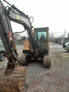 Very Good Condition Volvo Ec55 Excavator Mini Excavator Ec55blc pictures & photos