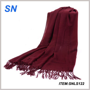 Wholesale 2015 Fashionable Model Wedding Scarf Winter pictures & photos