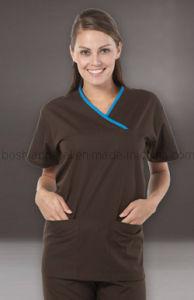 Custom Comfortable Medical Uniform for Patient (MU08) pictures & photos