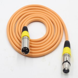 3m Colorful Zinc Alloy 3pin XLR Cable for Electric Guitar pictures & photos