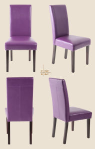 Synthetic Leather Dining Chair Hotel Dining Chair Restaurant Chair (M-X1036) pictures & photos