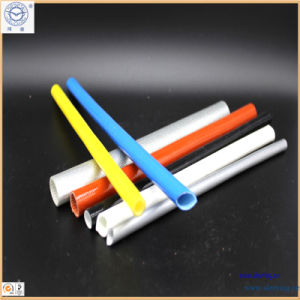 Aluminum Silicone Rubber Fiberglass Sleeving pictures & photos