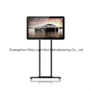 42′′ High Quality LED Backlit LCD Advertising Display Standing pictures & photos