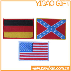 Custom Logo Embroidery Woven Patch for School Uniform (YB-pH-04) pictures & photos