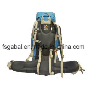 Outdoor Hiking Gear Waterproof Nylon Camping Bag Backpack pictures & photos