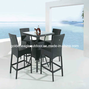 Rattan Furniture with UV Resistant PE Rattan (Fp0114)