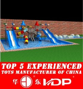 HD2014 Outdoor Newest Fiber Pool Slide (HD140606-A2-4) pictures & photos
