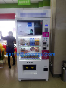Hot Sale Beverage/Snack Vending Machine 8c (32HP) pictures & photos