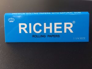 Slim King Size Natural Organic Hemp Brown Smoking Rolling Paper pictures & photos