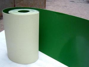 Light Duty Green/White PVC Conveyor Belt Smooth Matt/Gloss Surface pictures & photos