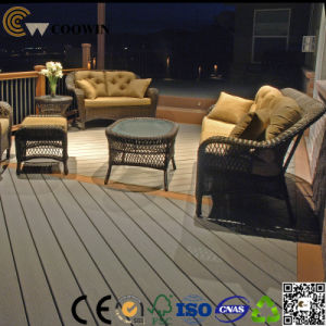 Anti-Color Fade Decking WPC Outdoor pictures & photos