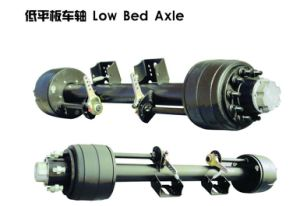Semi Trailer Axle for Lowbed Semi Trailer