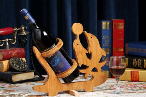 Bamboo & Wooden Wine Rack for Home Decoration pictures & photos
