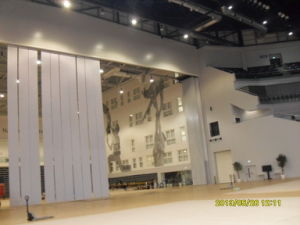 Super-High Operable Partition Wall for Gym/Multi-Purpose Hall pictures & photos