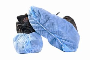 Disposable PE Coated Polypropylene Shoe and Boot Covers Hot Sale pictures & photos