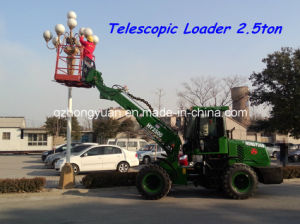 Hot Sale Hym Machinery Telescopic Loader Hy2500 pictures & photos
