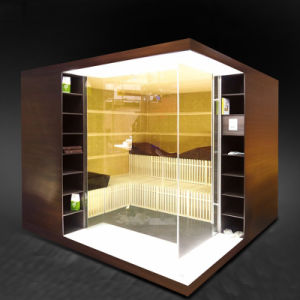 Fashionable Outdoor Sauna Steam Room with Radio CD Player (SR8H1002) pictures & photos