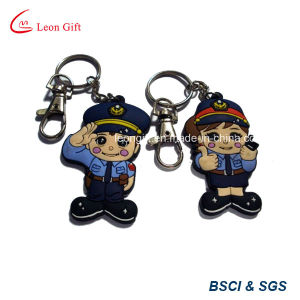 Christmas Shape Soft PVC Key Holder for Promotion pictures & photos