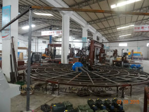 Automatic Carrousel Circular Foam Polyurethane Sponge Cutting Machinery pictures & photos