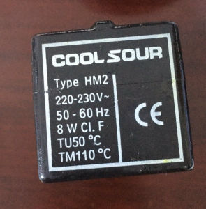 Refrigeration Solenoid Valve Coil, AC 220V/380V, DC 12V/24V pictures & photos