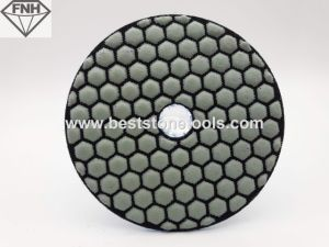 Honeybomb Dry Polishing Pads for Grinding Marble
