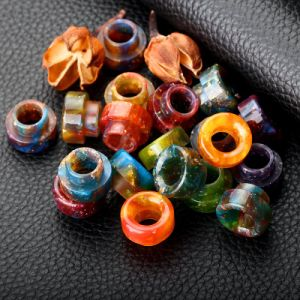 Vivismoke Wholesale Colorful Shining Resin Drip Tip for 528 Goon Kennedy 24 810 pictures & photos