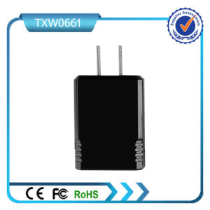 Us Plug Double USB 5V 2.1A Fast Charging Wall Charger pictures & photos