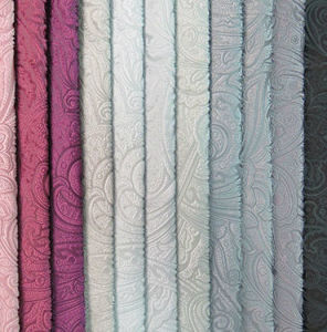 China High Quality Velvet Embossed Textile pictures & photos