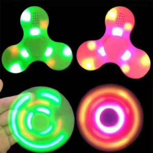 Bluetooth Finger Spinner Fidget Toy LED Spinner