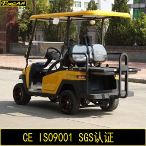 Club Car New Design 4 Seater Electric Golf Buggy pictures & photos