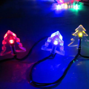 50 LED Solar Powered christmas Tree String Light Outdoor Waterproof Colorful Lamp for Home Garden Patio Lawn Party Wedding New Year Holiday Decorations pictures & photos