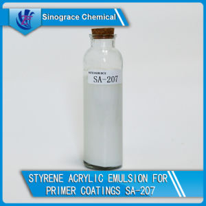 Water Based Styrene Acrylic Emulsion for Primer Coatings pictures & photos