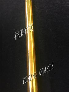 Lpcvd Quartz Glass Tubes with Yellow Coating pictures & photos