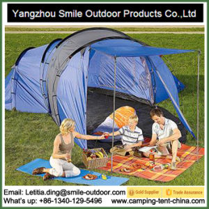 2017 Waterproof Cotton Canvas Large Room Family Camping Tent pictures & photos