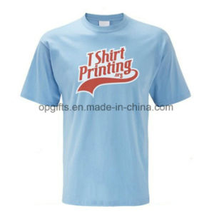 Competitive Price OEM Tee 100 Combed Cotton Wholsale T Shirts pictures & photos