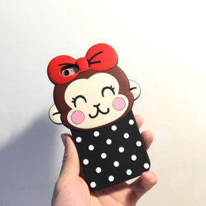 Animal Custom Made Silicone Mobile Phone Case for iPhone 7 pictures & photos