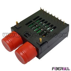 1X9 Dual Fiber Optical Transceiver Sm 1310nm 155m FC 40km pictures & photos
