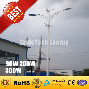 300W Wind Solar Hybrid Turbine Generator for Streetlight Wind Driven Generator pictures & photos